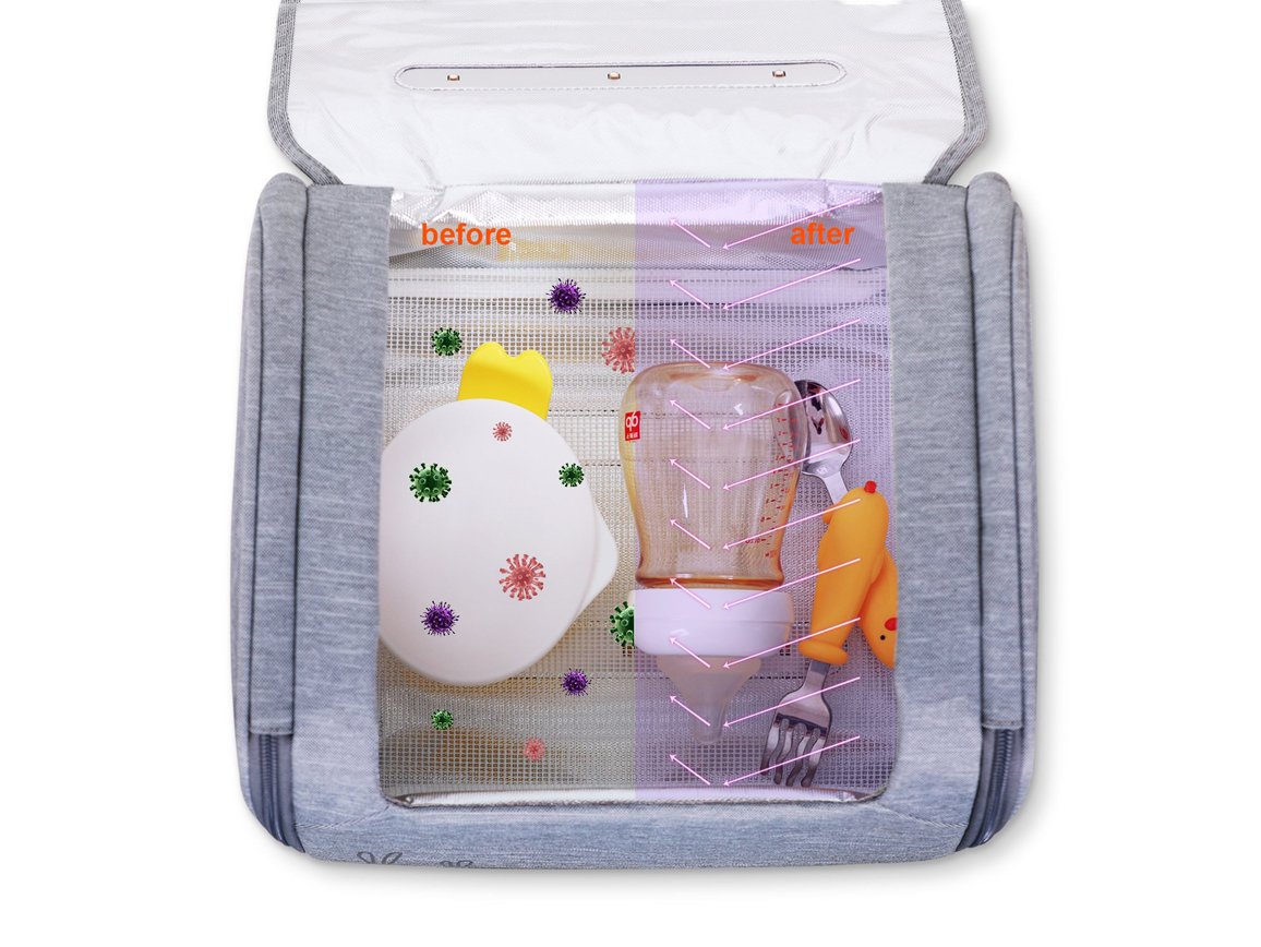 59S Baby Toy Storage Sterilizer Box P18M. Стерилизатор для хранения игрушек