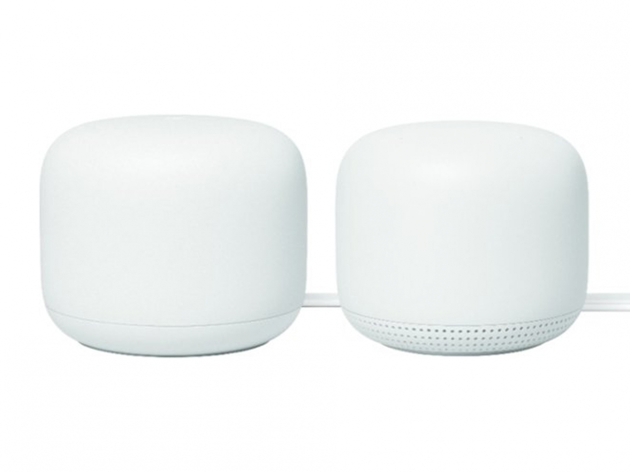 Google Nest Wi-Fi Router and Nest Wifi Add-On Point. Домашняя WiFi-система: Router+Point