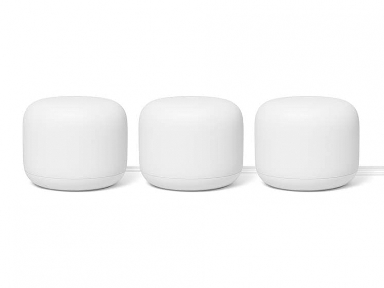 Google Nest Wi-Fi Router. Wi-Fi роутер: 3-Pack
